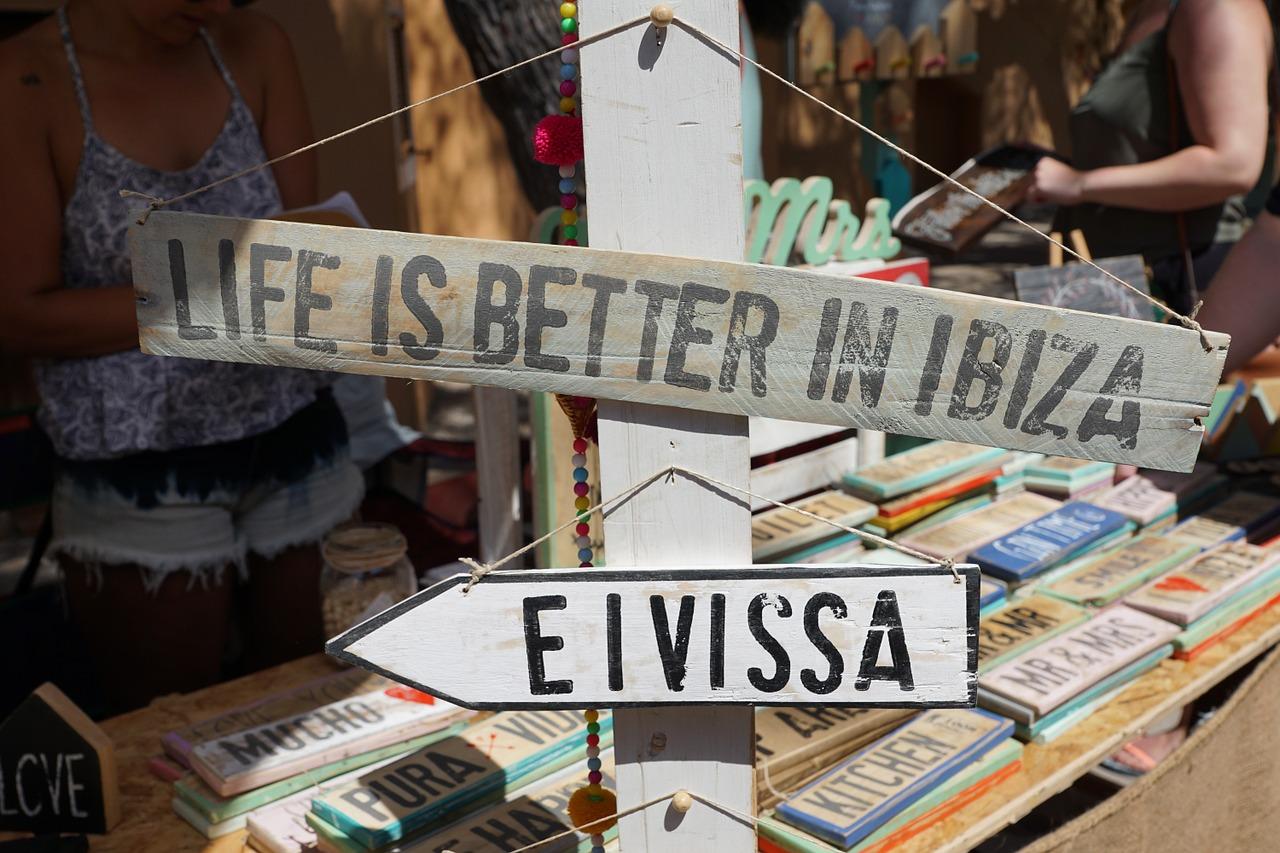 Hippie Markt auf Ibiza