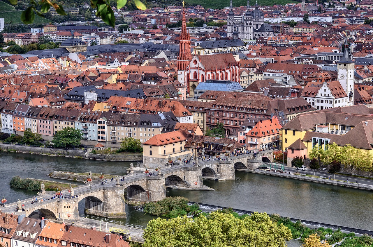 Würzburg an der Romantischen Strasse