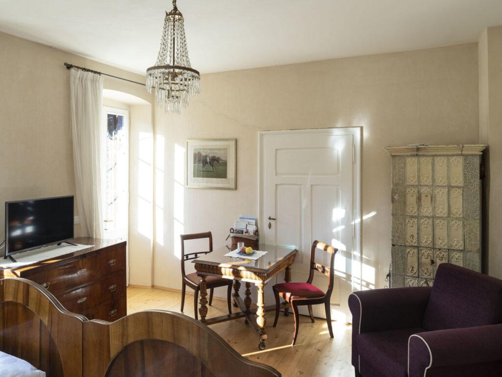Apartment Villa Bergmann - Junior Suite Wohnzimmer